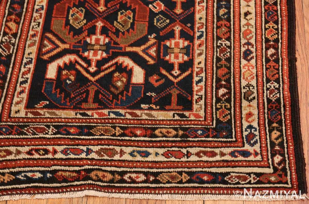 Corner Antique Malayer Persian runner rug 48464 by Nazmiyal