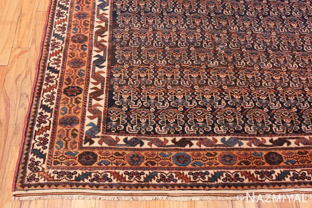 Corner Antique Persian Afshar rug 50186 by Nazmiyal
