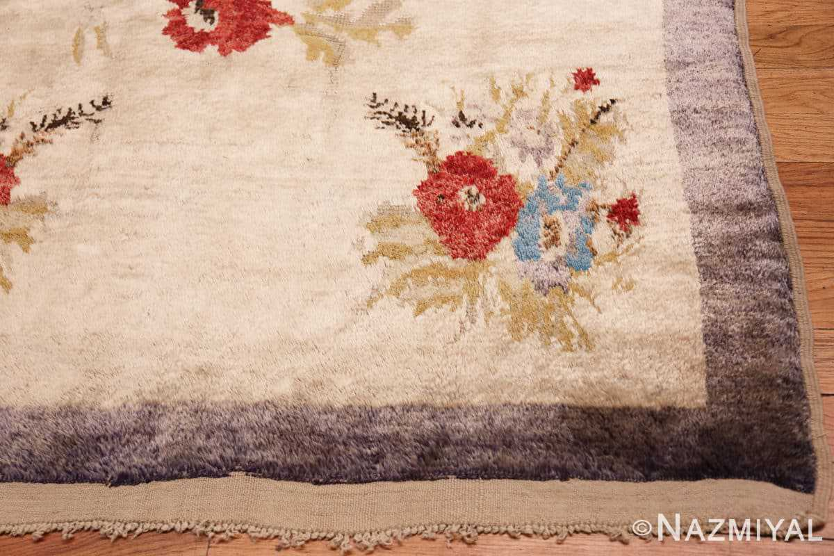 Corner Vintage Turkish Sivas rug 50163 by Nazmiyal