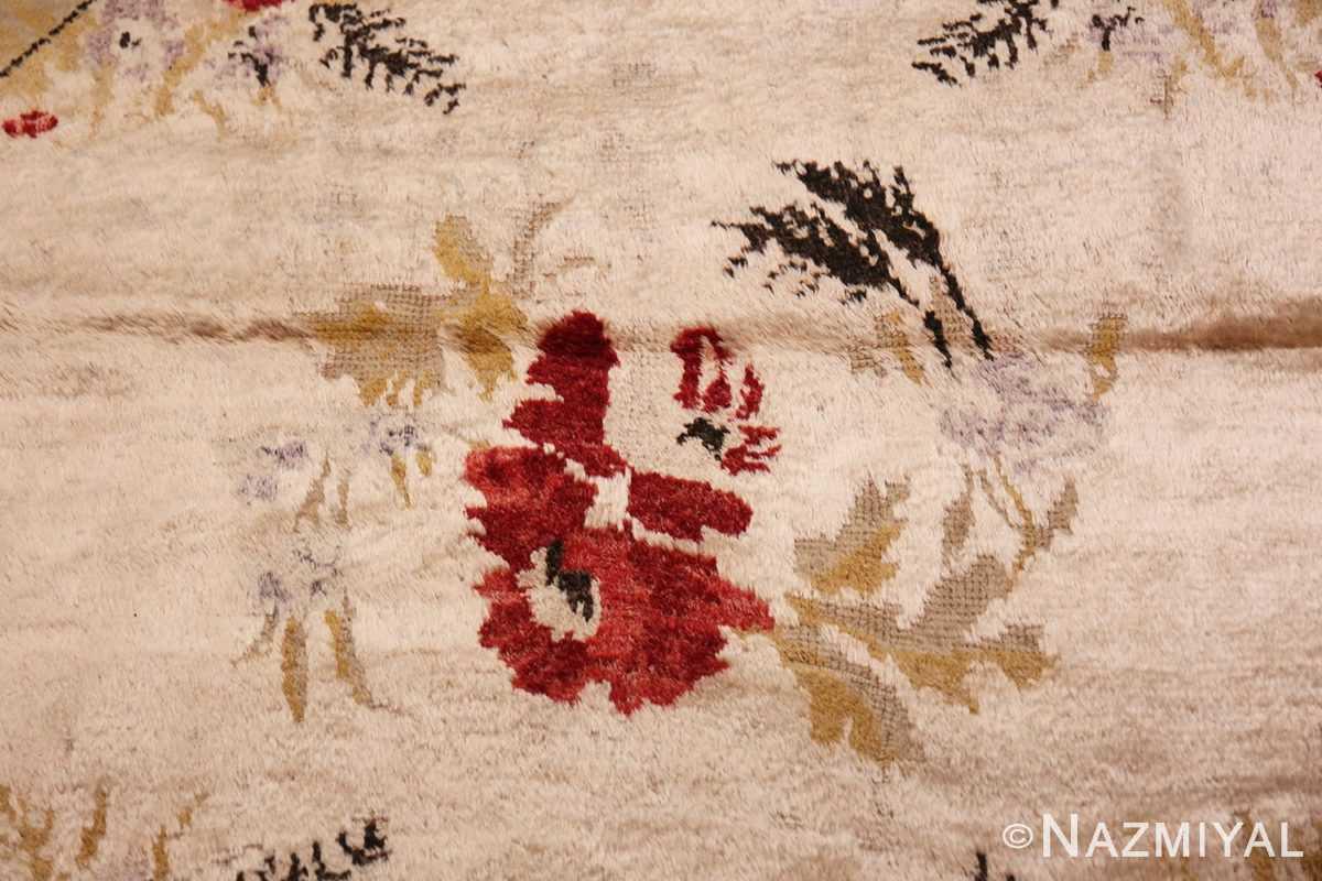 Detail Vintage Turkish Sivas rug 50163 by Nazmiyal