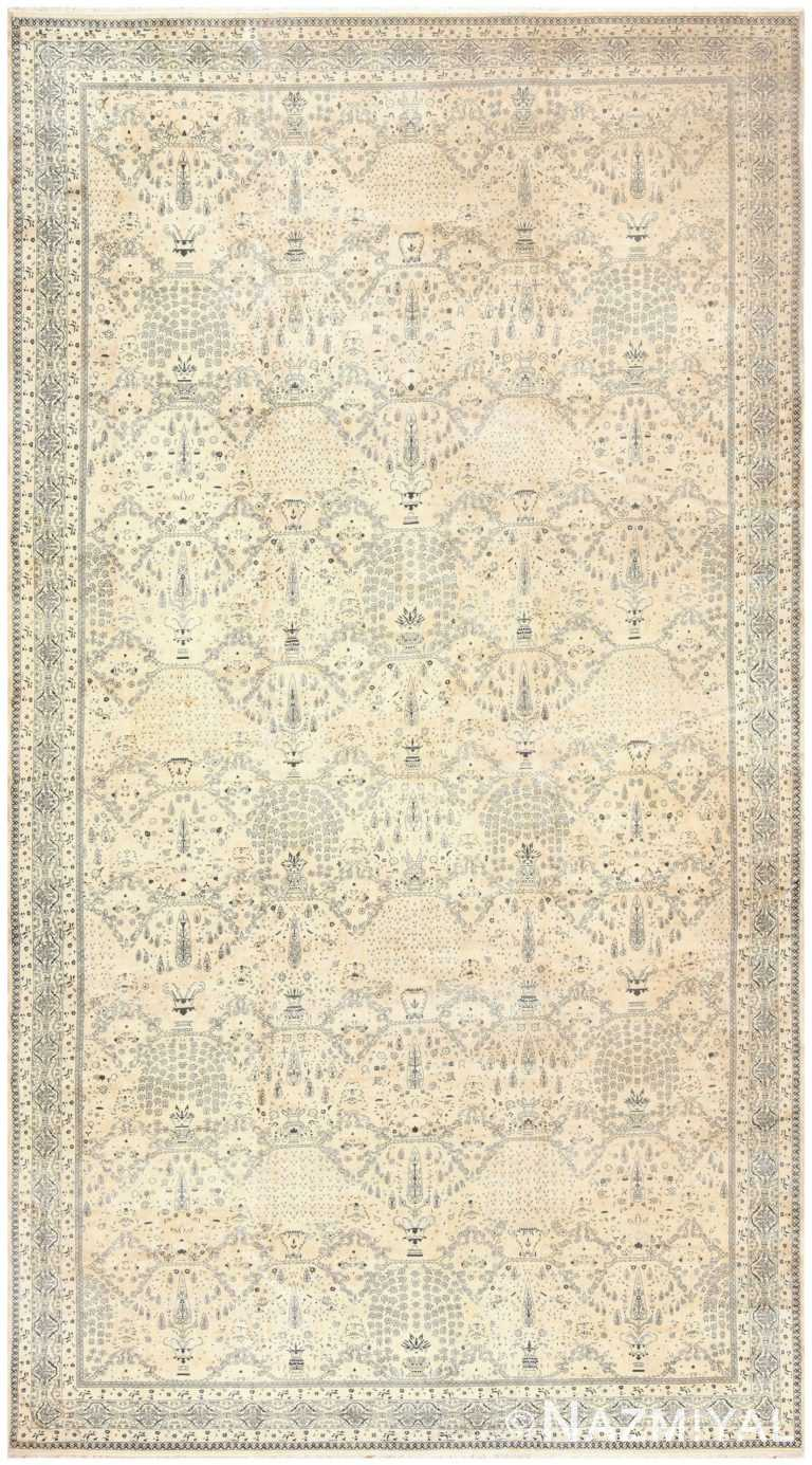 Extra Large Antique Indian Agra Carpet 50110 Nazmiyal