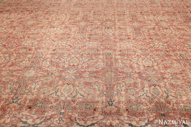 extra large antique persian tabriz carpet 50118 field Nazmiyal