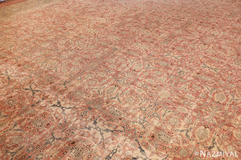 extra large antique persian tabriz carpet 50118 side Nazmiyal
