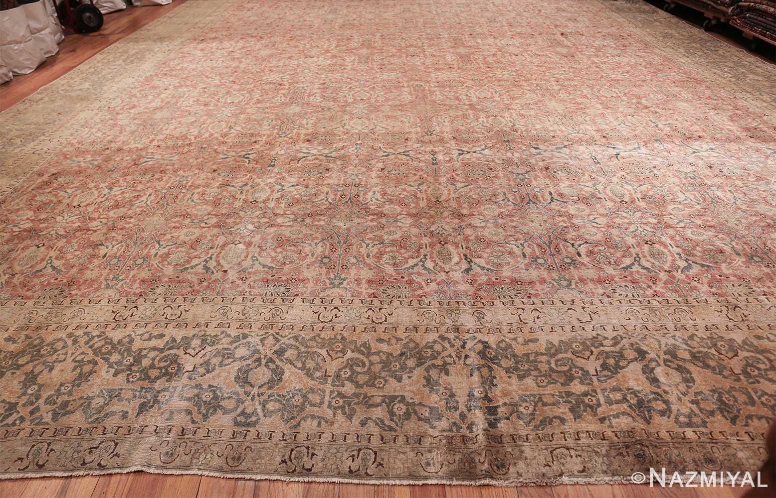 extra large antique persian tabriz carpet 50118 whole Nazmiyal