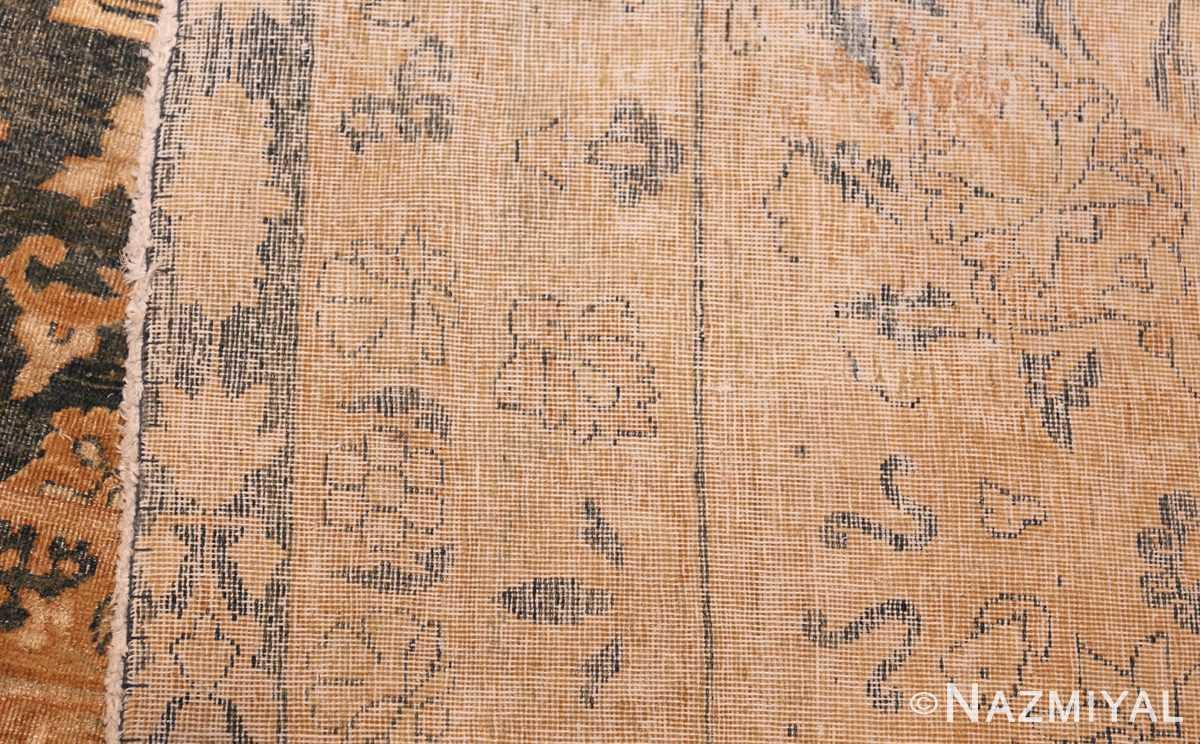 extra large oversized light blue antique persian kerman rug 48226 weave Nazmiyal