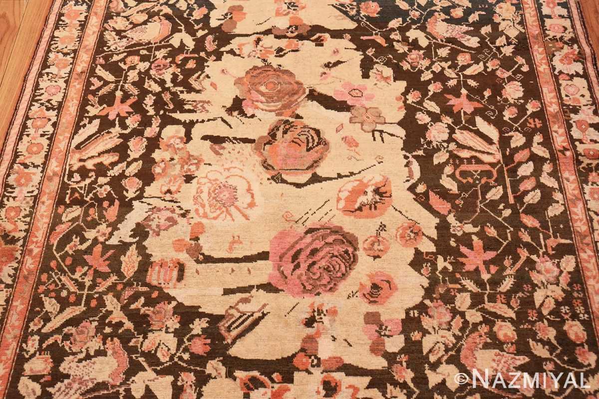 Field Antique Caucasian Karabagh runner rug 50028 by Nazmiyal