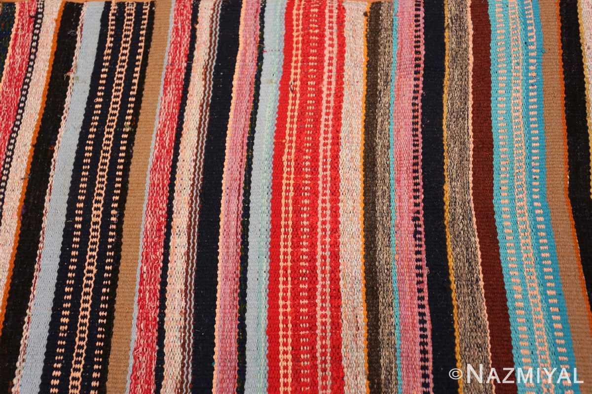 Field Vintage Swedish rag rug 46667 by Nazmiyal