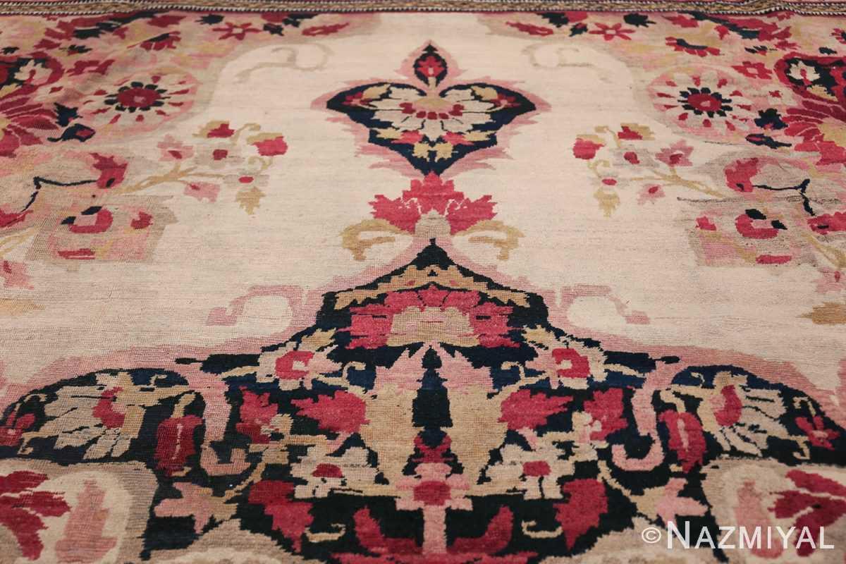 Fine Antique 19th Century Persian Kerman Rug 50146 Closer Shot Nazmiyal