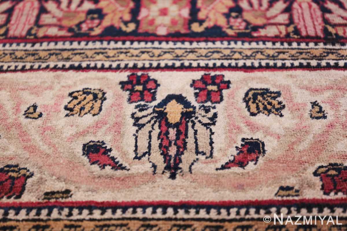 Fine Antique 19th Century Persian Kerman Rug 50146 Fallen Leaves Nazmiyal