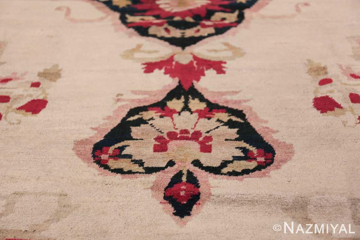 Fine Antique 19th Century Persian Kerman Rug 50146 Lower Tiara Nazmiyal