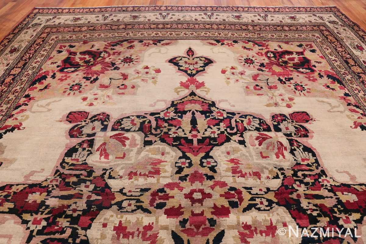Fine Antique 19th Century Persian Kerman Rug 50146 Top Design Nazmiyal