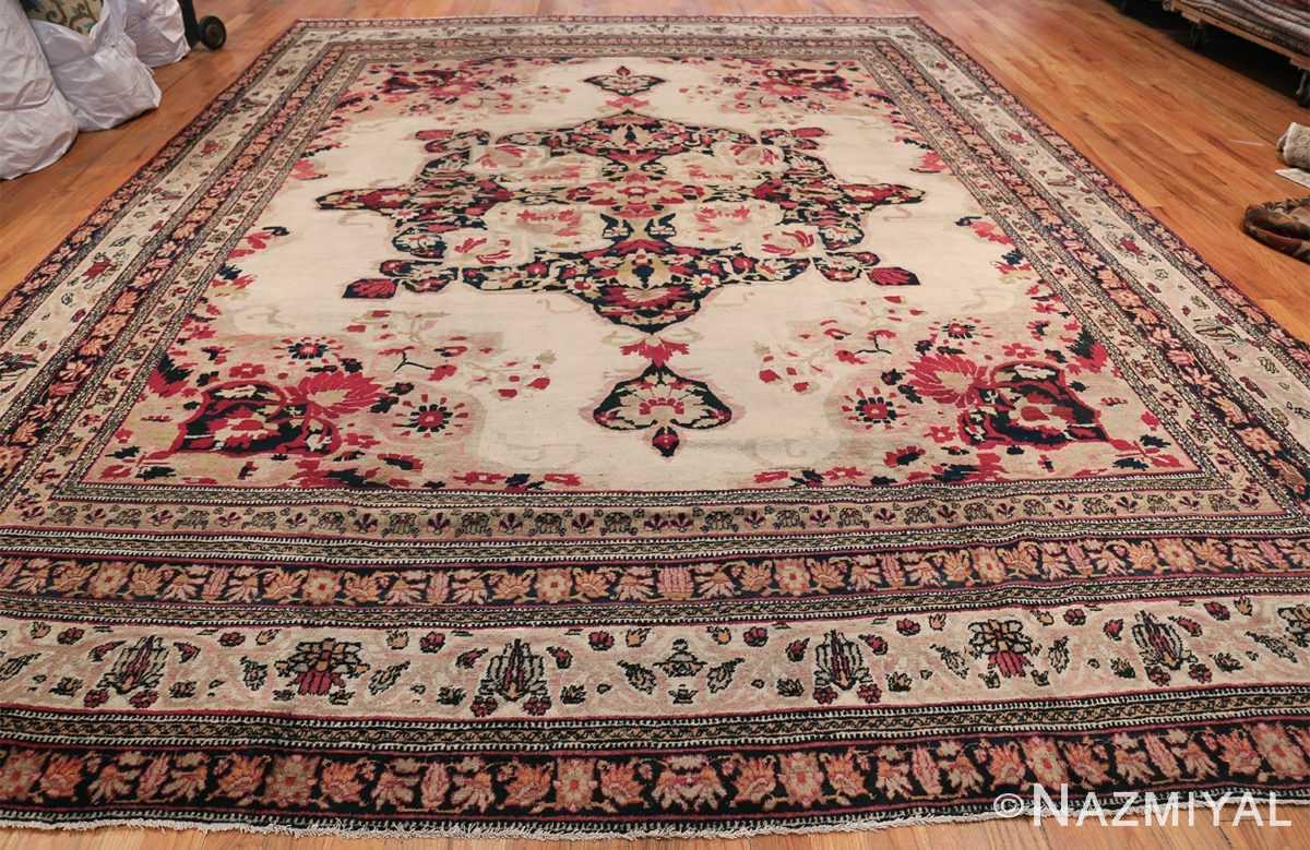 Fine Antique 19th Century Persian Kerman Rug 50146 Whole Design Nazmiyal
