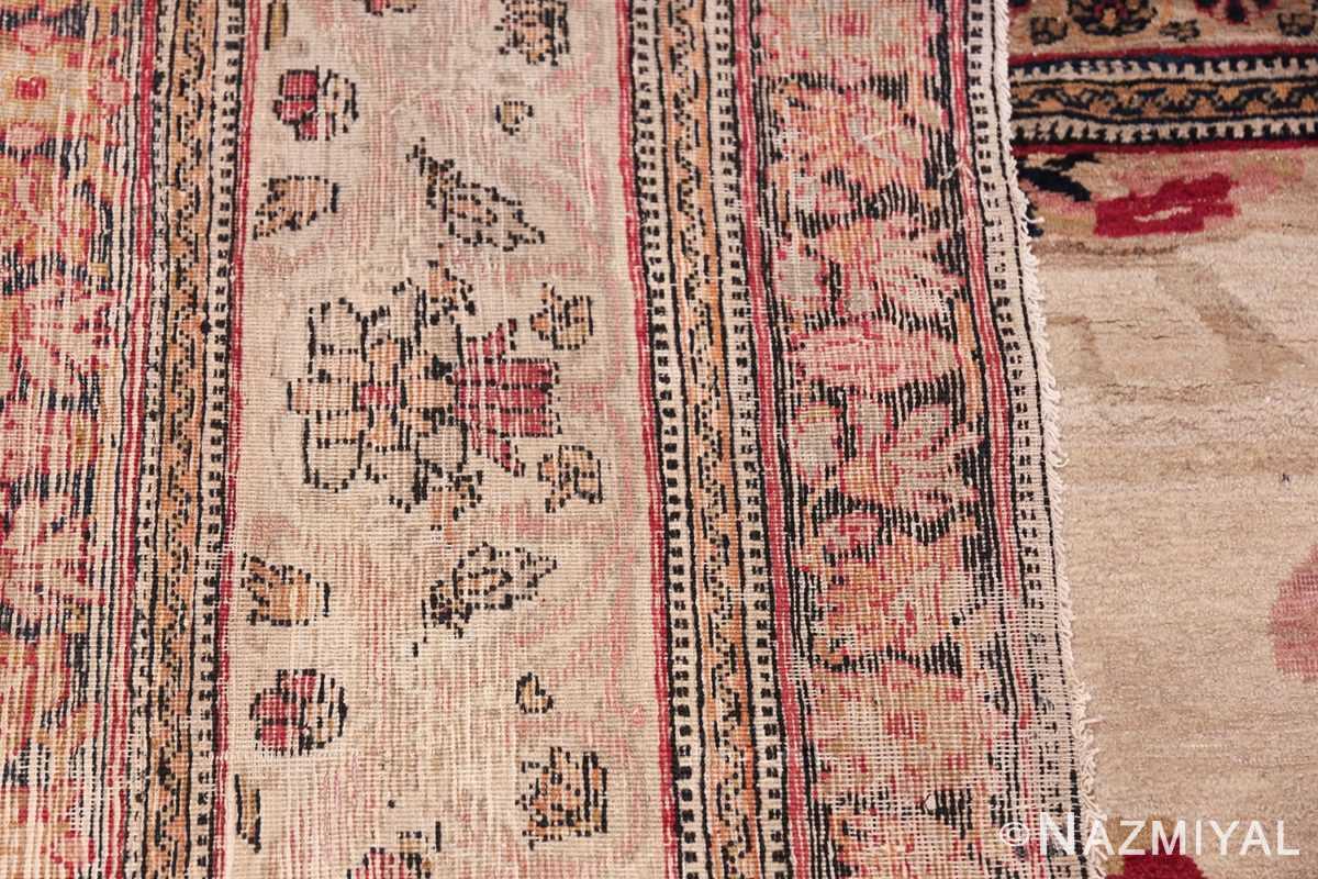 Fine Antique 19th Century Persian Kerman Rug 50146 Woven Knots Nazmiyal
