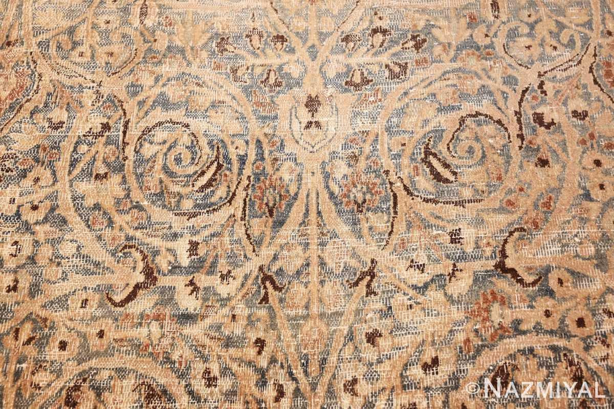 fine decorative antique shabby chic persian khorassan carpet 48404 center Nazmiyal