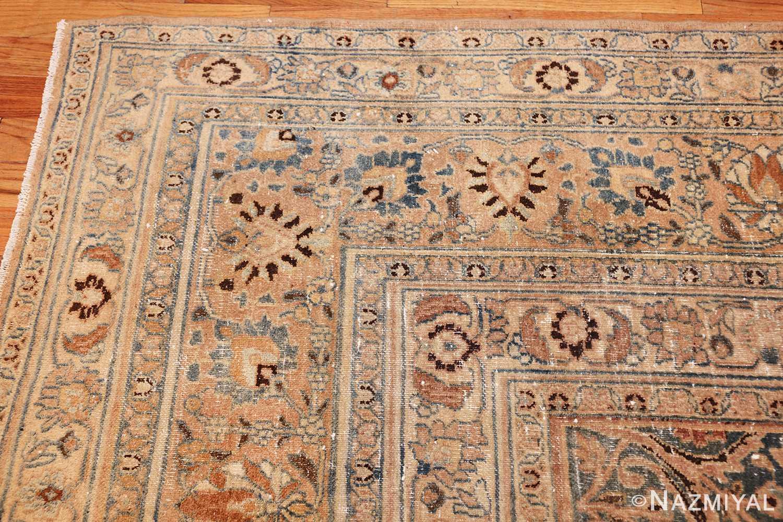 fine decorative antique shabby chic persian khorassan carpet 48404 corner Nazmiyal
