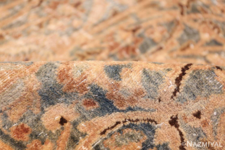 fine decorative antique shabby chic persian khorassan carpet 48404 light pile Nazmiyal