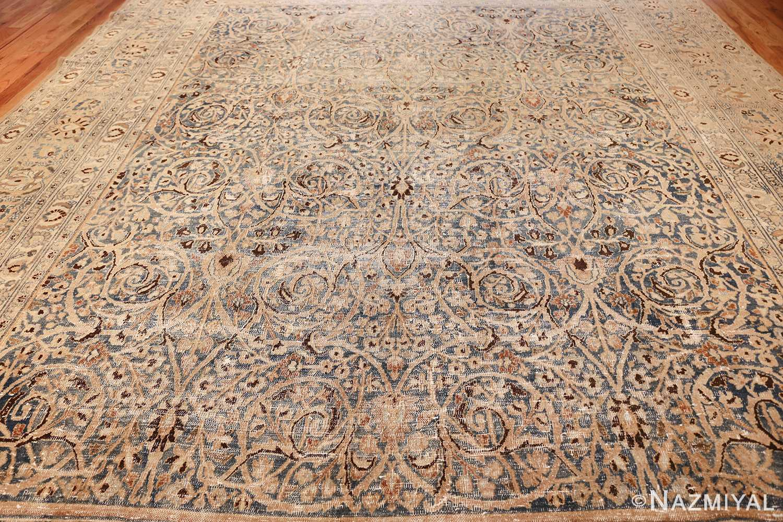 fine decorative antique shabby chic persian khorassan carpet 48404 light side Nazmiyal