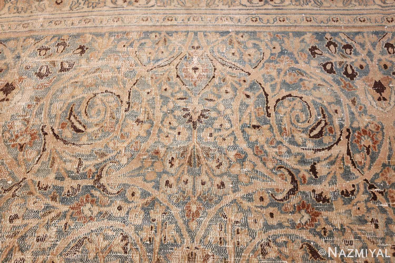 fine decorative antique shabby chic persian khorassan carpet 48404 scrolls Nazmiyal