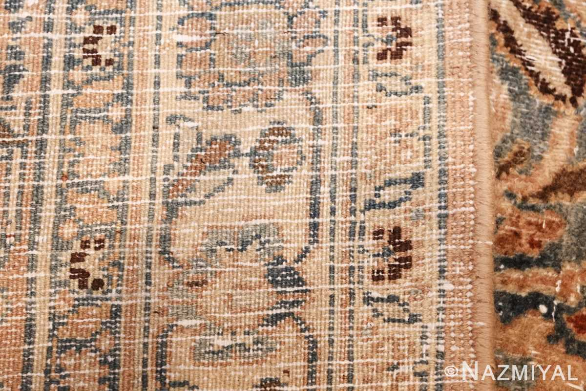fine decorative antique shabby chic persian khorassan carpet 48404 weave Nazmiyal