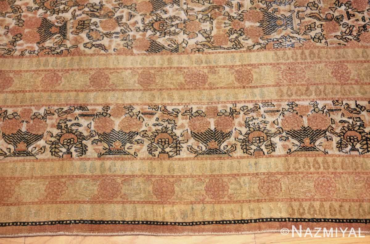 fine persian tehran room size antique carpet 50189 border Nazmiyal