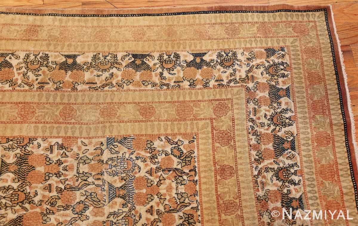 fine persian tehran room size antique carpet 50189 corner Nazmiyal