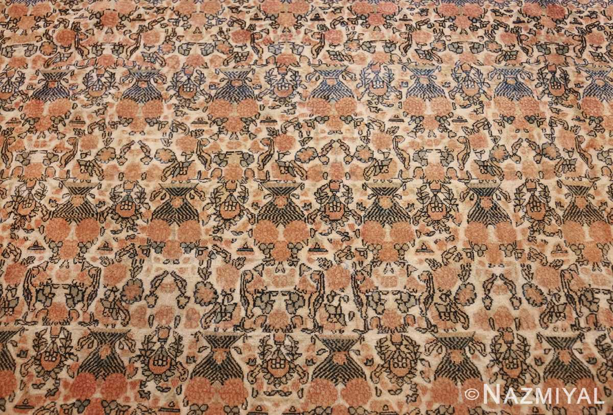 fine persian tehran room size antique carpet 50189 field Nazmiyal