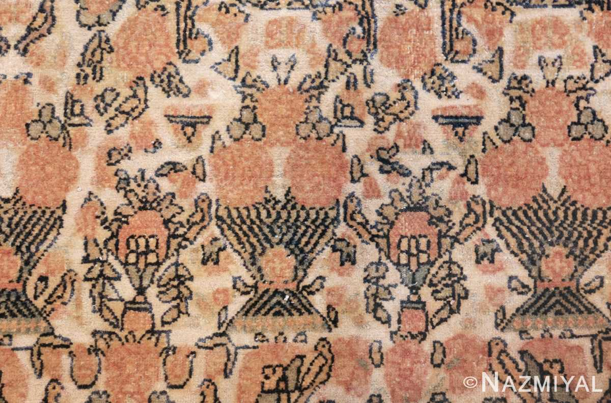 fine persian tehran room size antique carpet 50189 vase Nazmiyal