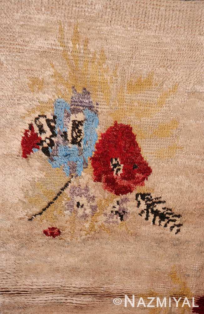 Flower Vintage Turkish Sivas rug 50163 by Nazmiyal