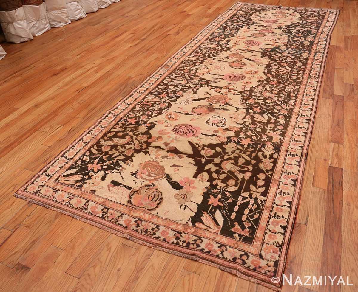 Full Antique Caucasian Karabagh runner rug 50028 by Nazmiyal