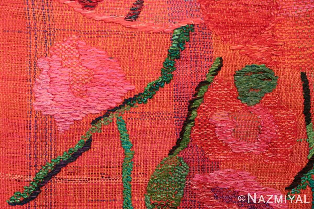 hans krondahl vintage tapestry 48489 pink Nazmiyal
