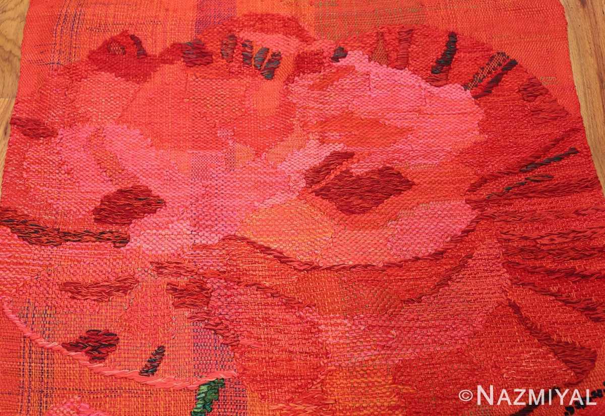 hans krondahl vintage tapestry 48489 rose Nazmiyal