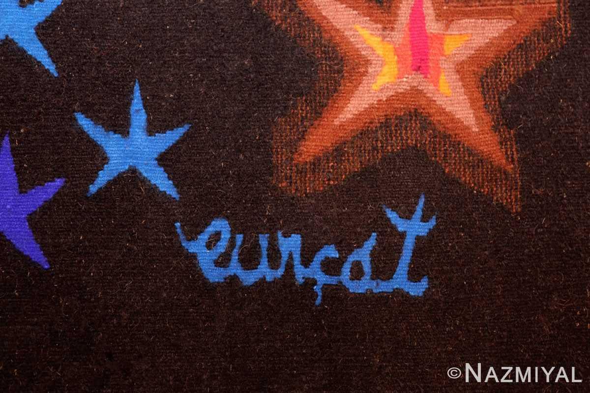 jean lurcat vintage tapestry 48486 signature Nazmiyal