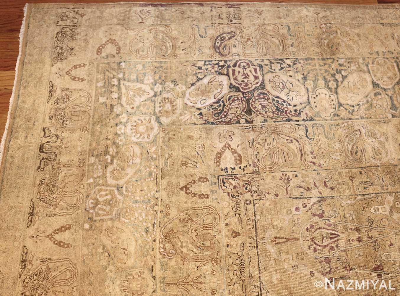 large antique persian kerman carpet 48341 corner Nazmiyal