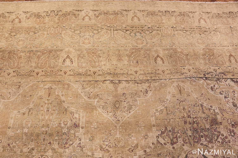 large antique persian kerman carpet 48341 top Nazmiyal