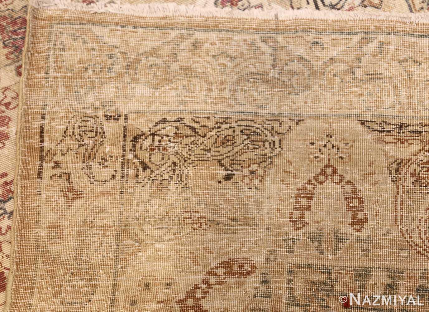 large antique persian kerman carpet 48341 weave Nazmiyal