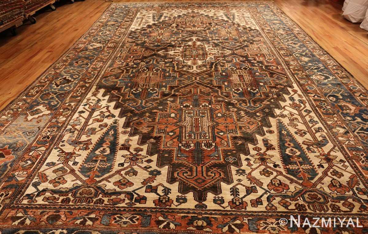large tribal geometric antique bakhtiari persian carpet 50136 whole Nazmiyal