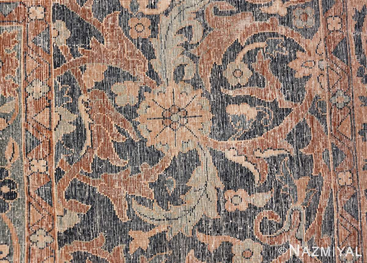 Oversized Antique Persian Kerman Carpet 50192 Knots Woven Nazmiyal