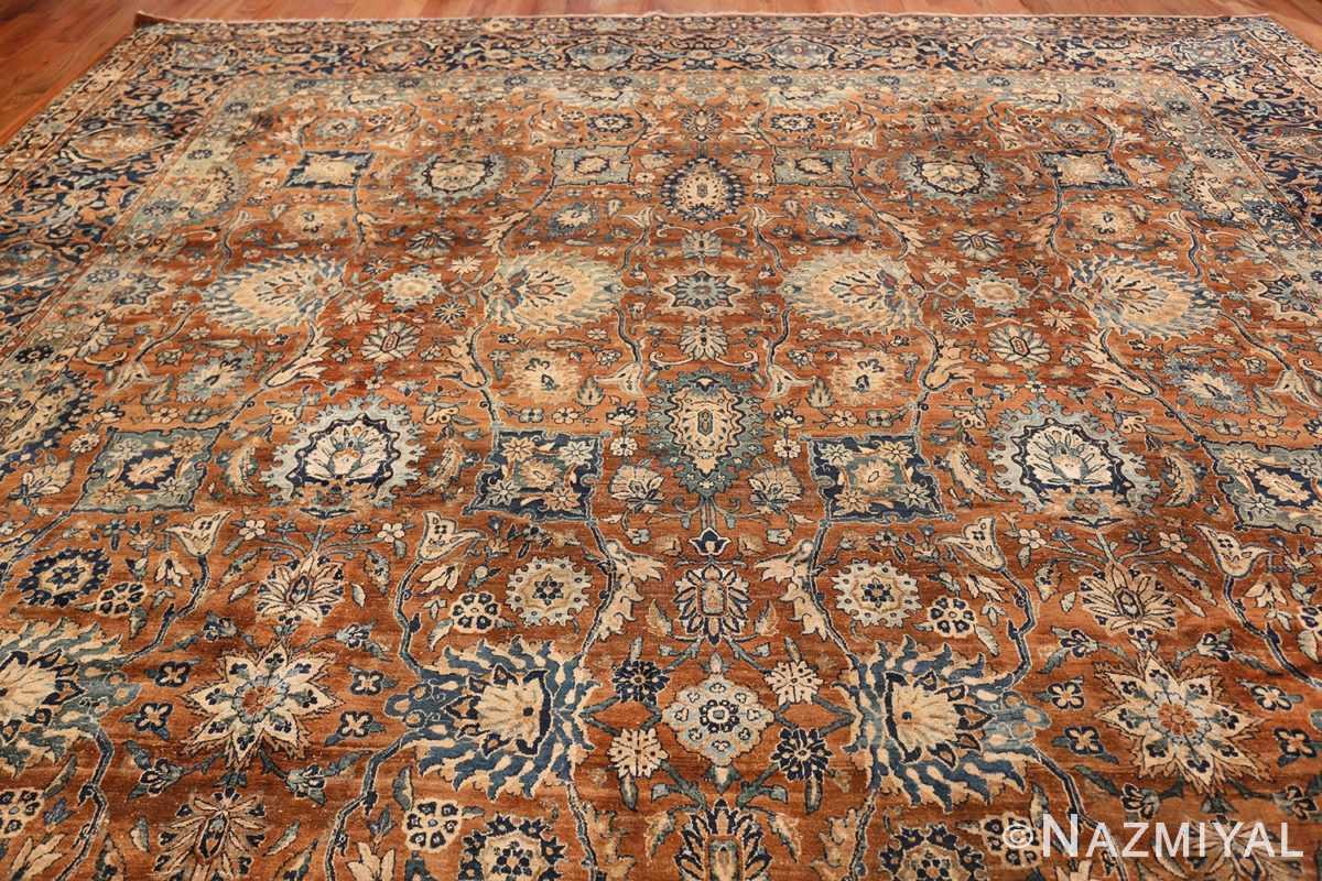 Oversized Antique Persian Kerman Carpet 50192 Top Design Nazmiyal