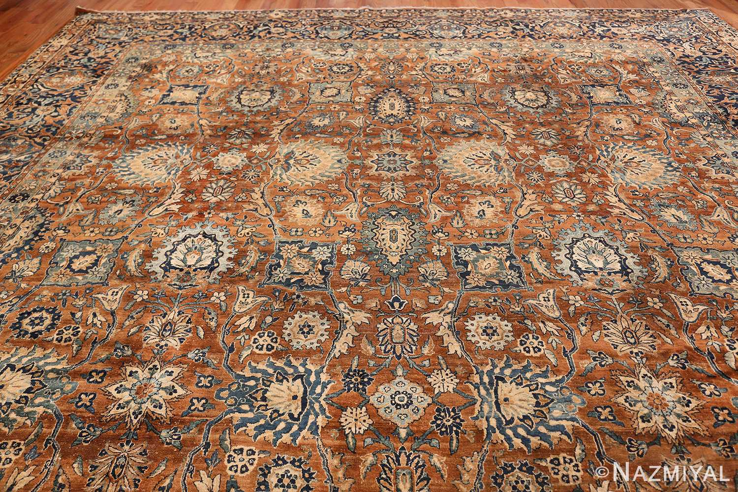 Oversized Antique Persian Kerman Carpet 50192 Top Design Nazmiyal