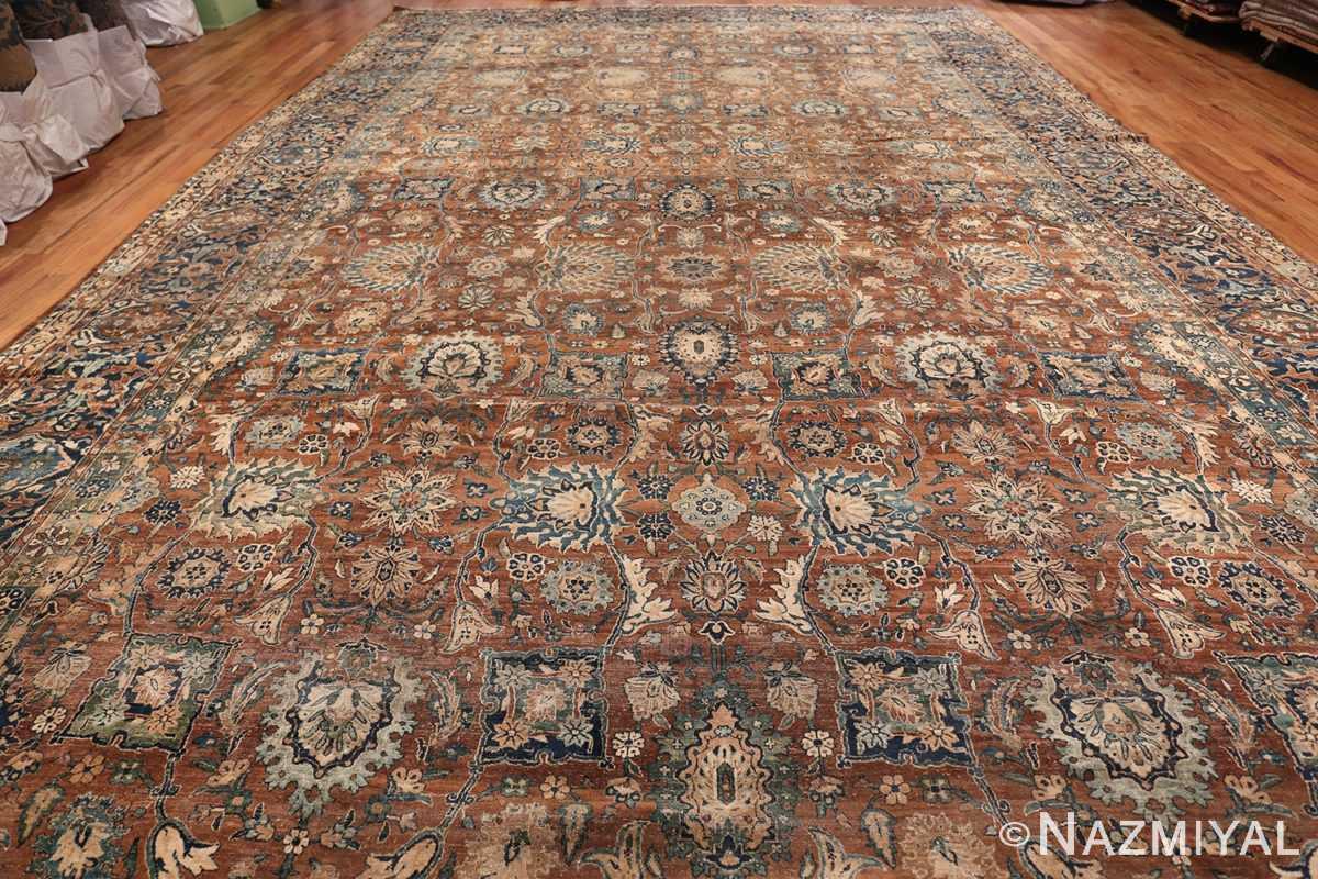 Oversized Antique Persian Kerman Carpet 50192 whole Design Nazmiyal