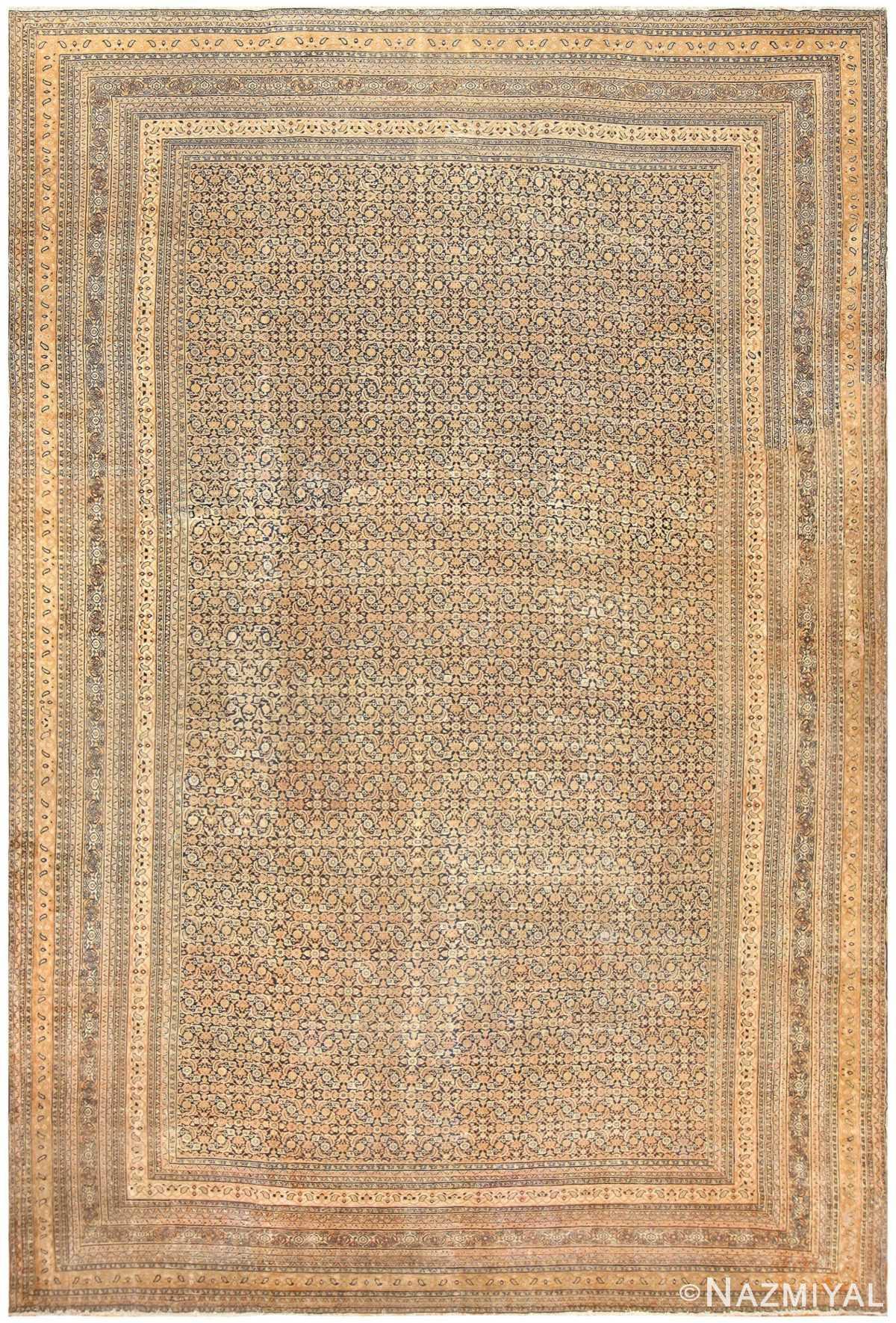 Oversized Antique Persian Khorassan Carpet 50215 Nazmiyal