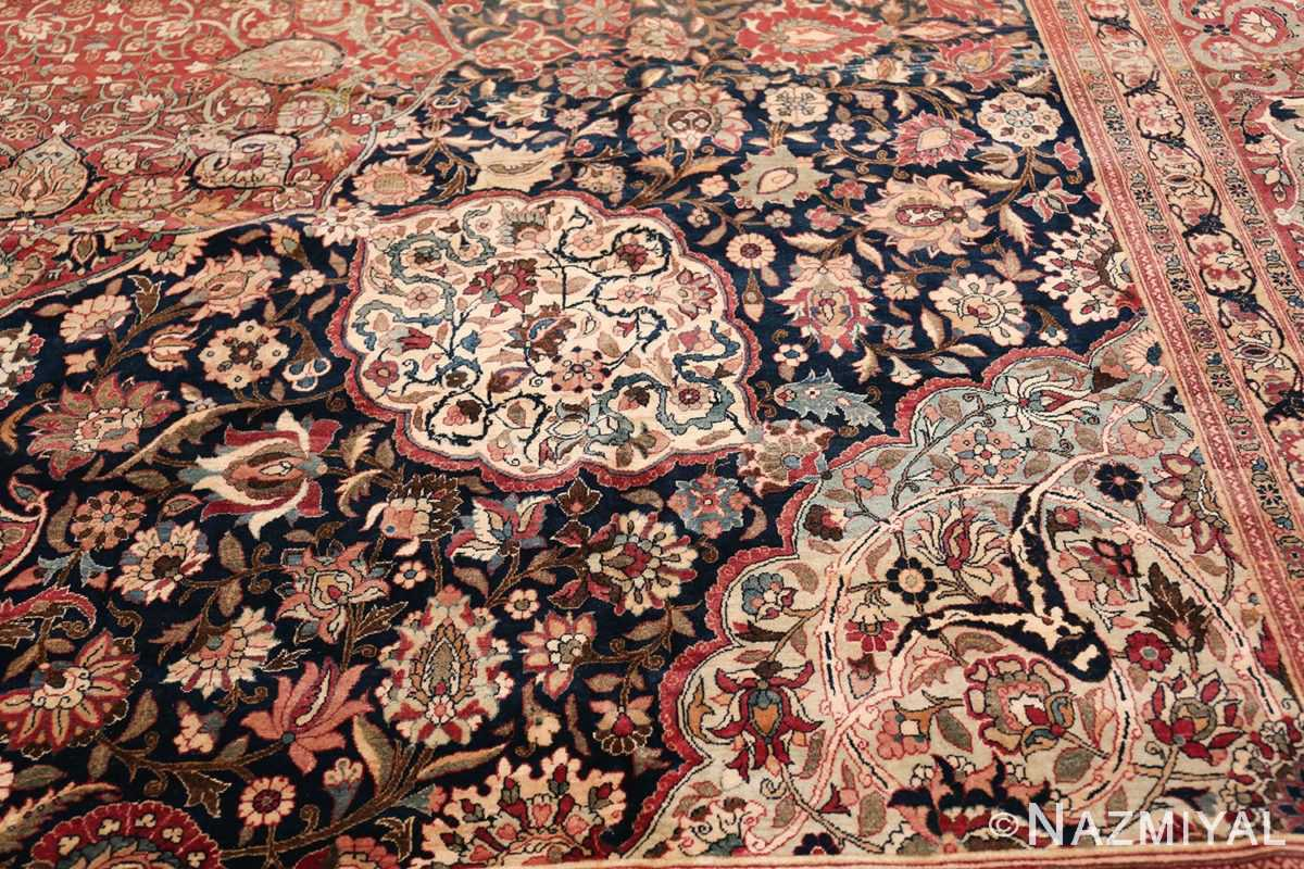 Oversized Antique Tehran Persian Carpet 50123 Cross Cut Nazmiyal