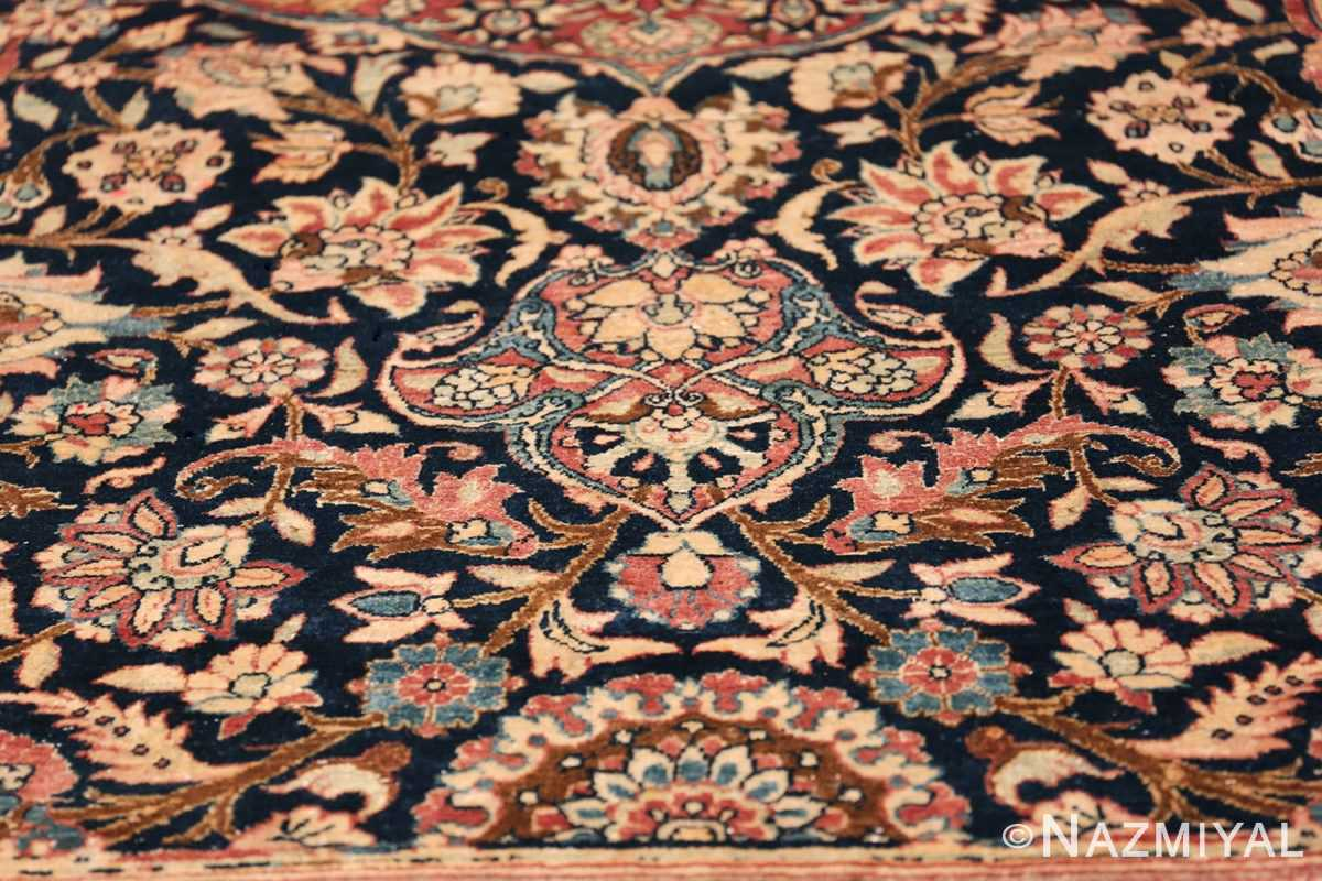 Oversized Antique Tehran Persian Carpet 50123 Floral Decoration Nazmiyal