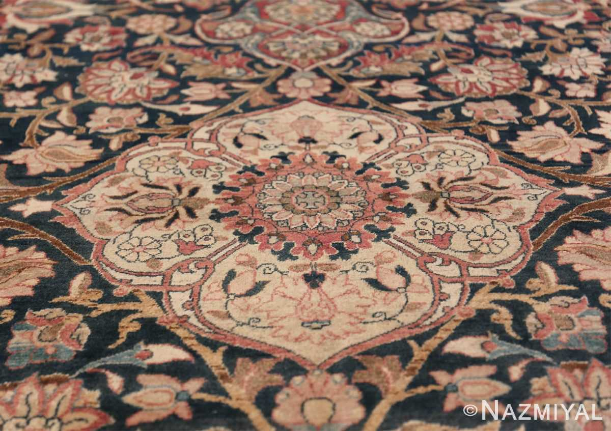 Oversized Antique Tehran Persian Carpet 50123 Off White Tiara Nazmiyal