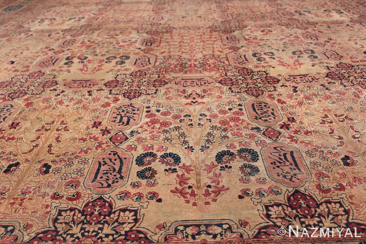 Oversized Oriental Palace Size Antique Persian Kerman Carpet 50112 Field Design Nazmiyal