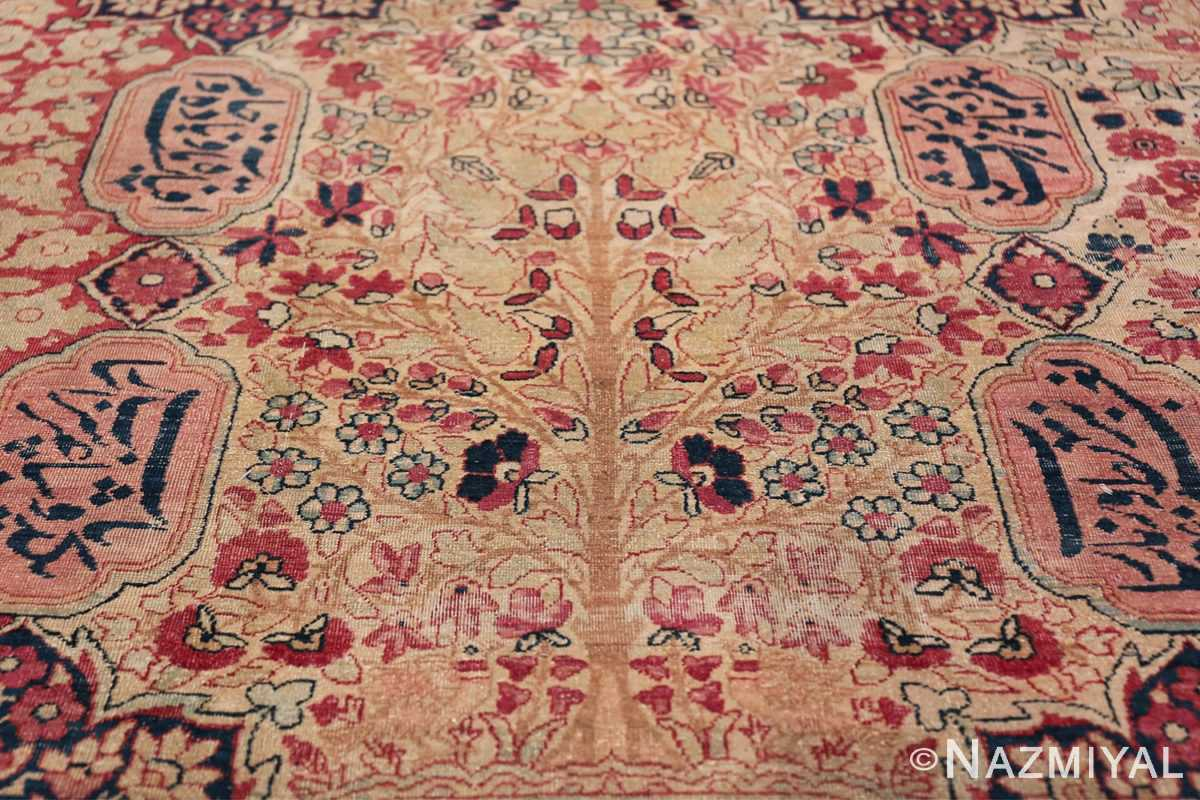 Oversized Oriental Palace Size Antique Persian Kerman Carpet 50112 Red Blooms Nazmiyal
