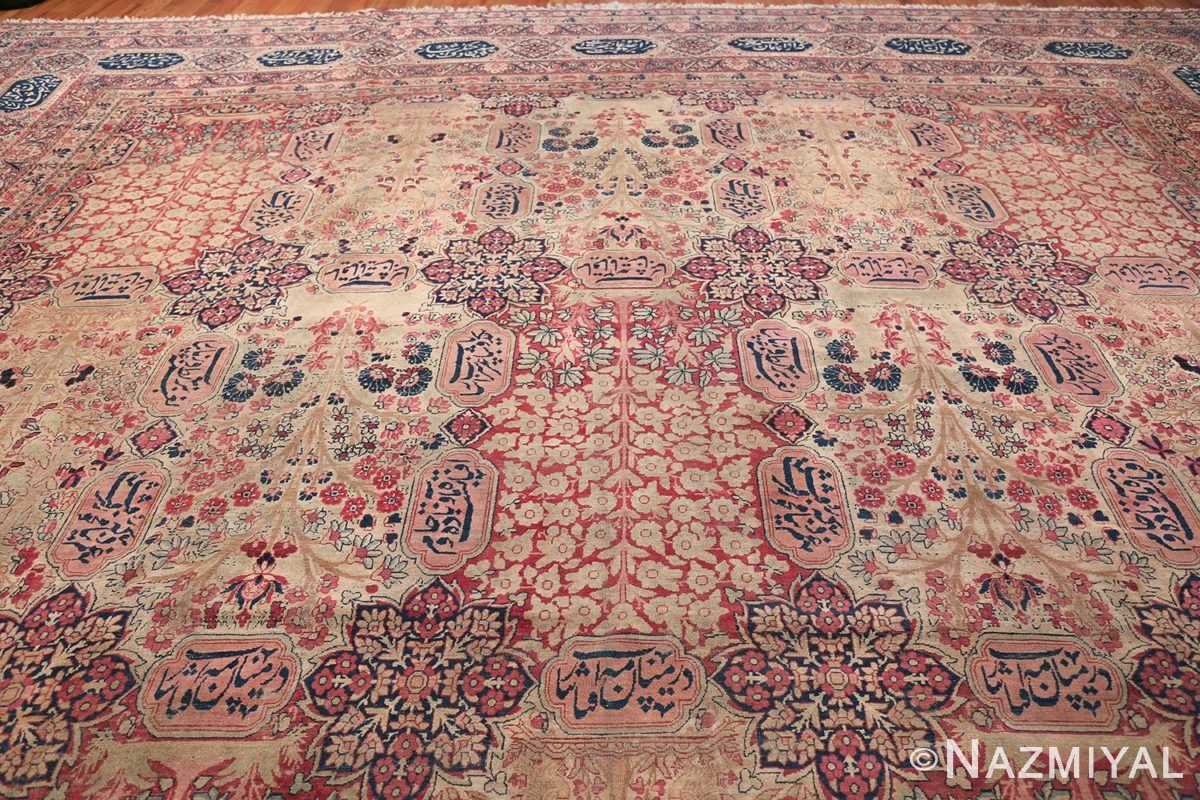Oversized Oriental Palace Size Antique Persian Kerman Carpet 50112 Top Design Nazmiyal