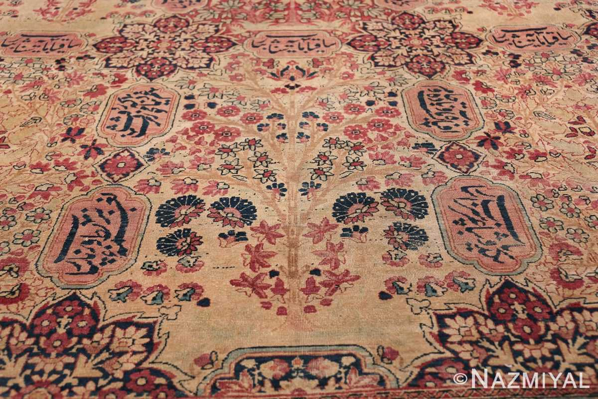 Oversized Oriental Palace Size Antique Persian Kerman Carpet 50112 Tree of Life Nazmiyal