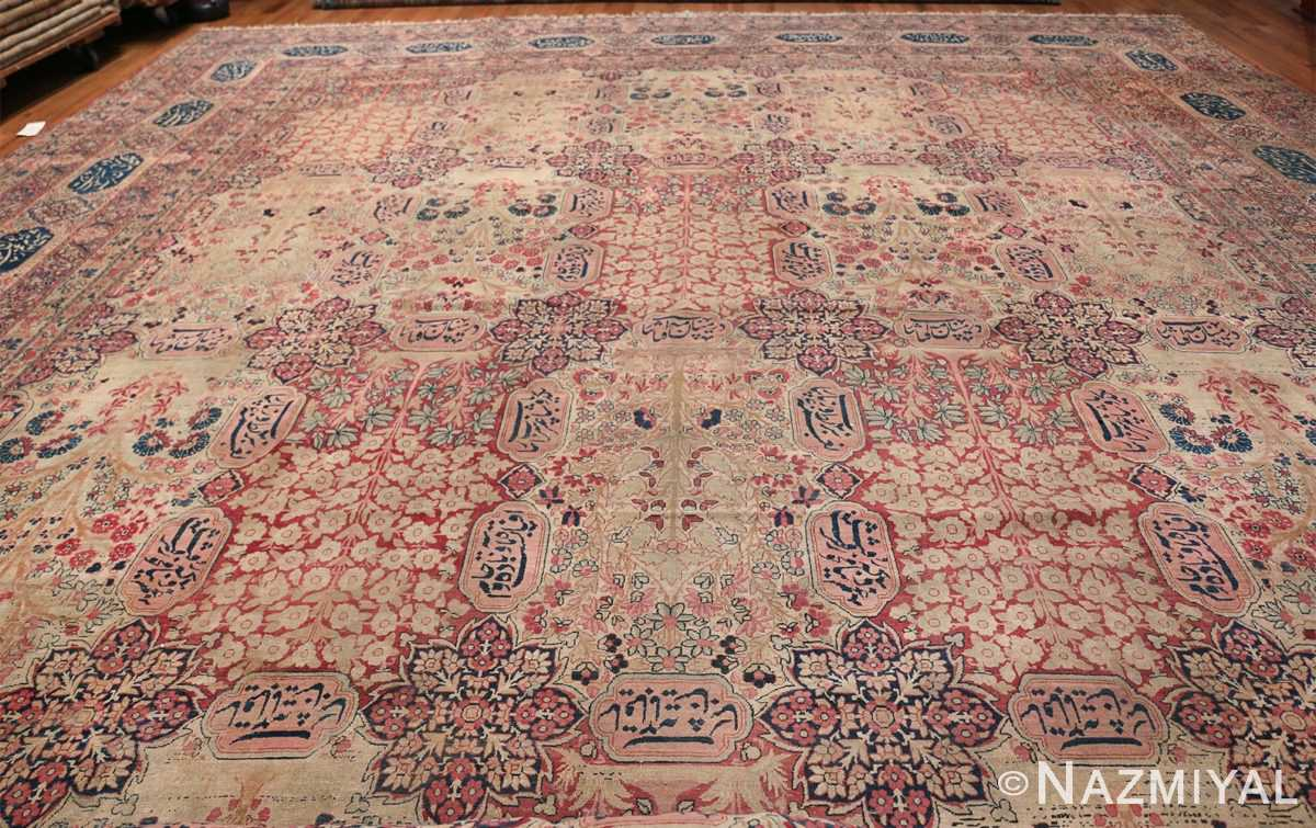 Oversized Oriental Palace Size Antique Persian Kerman Carpet 50112 Whole Design Nazmiyal