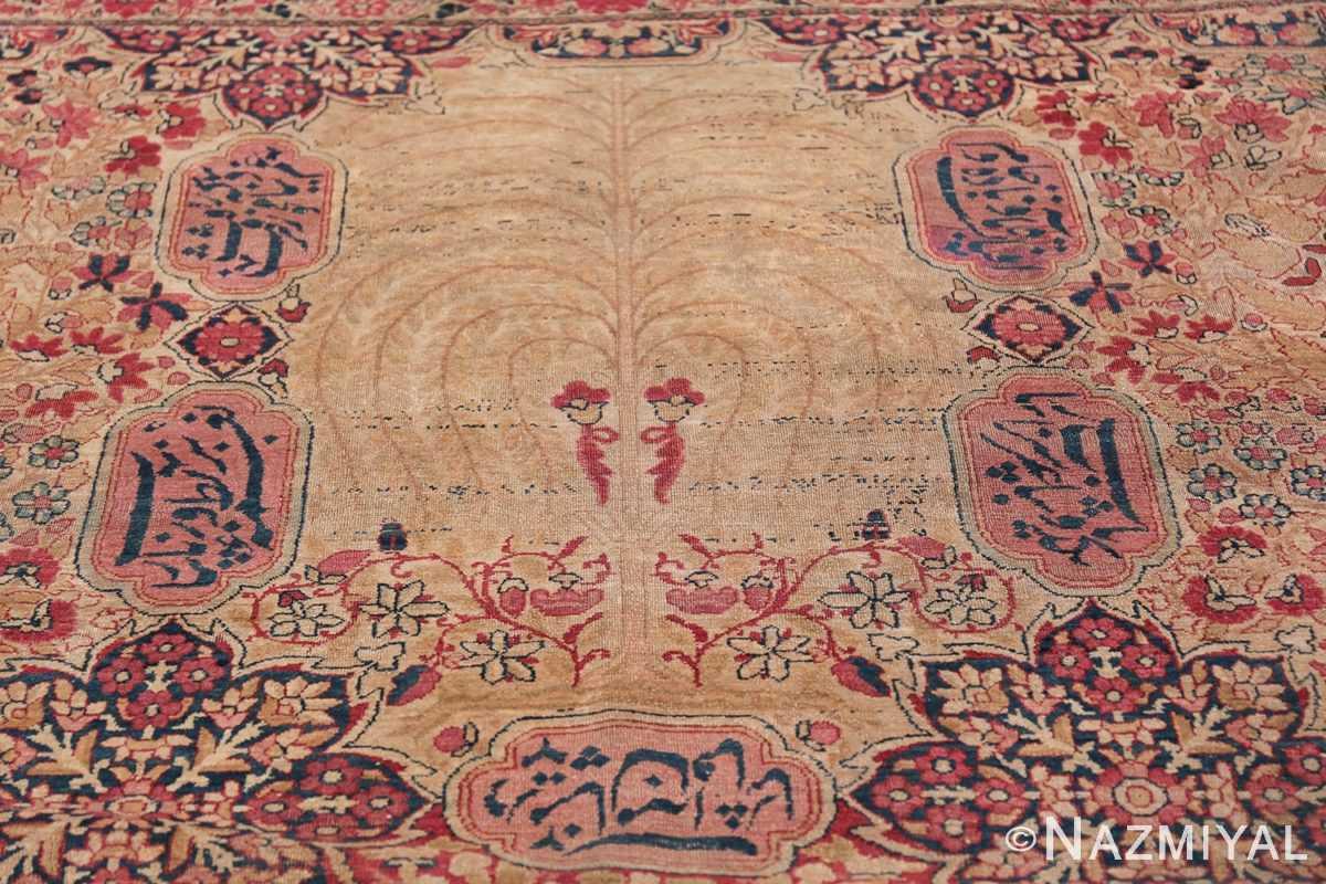 Oversized Oriental Palace Size Antique Persian Kerman Carpet 50112 Willow Tree pattern Nazmiyal